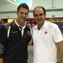 Carlos Germano e Ricardo Gomes